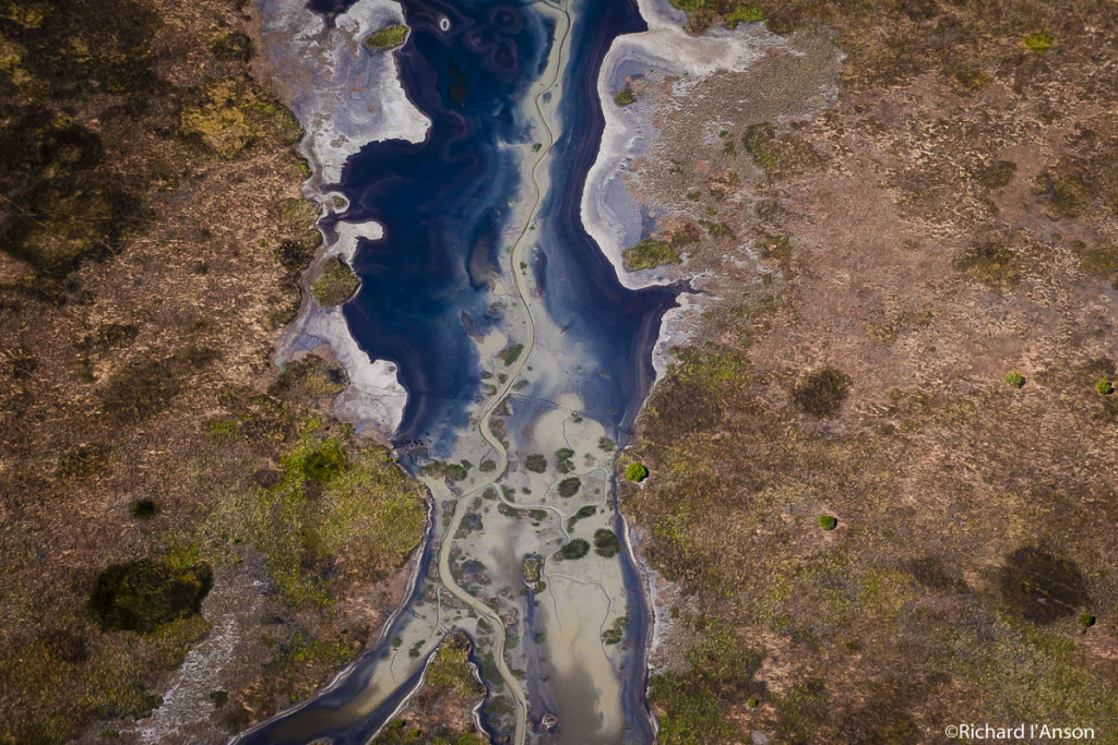 River running through Mary River Flood Plains, Australia. 2015